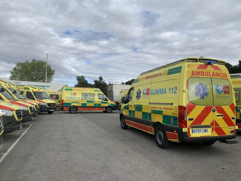 Ambulancia SUMMA_Plan regional suicidio