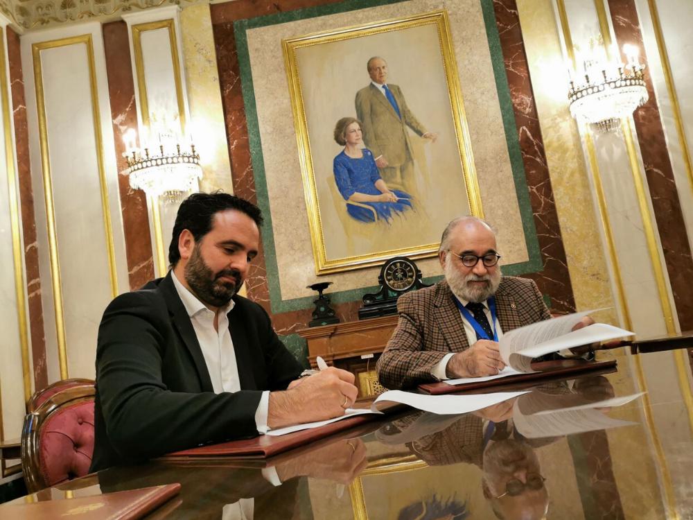 Iñigo Alli y Francisco Santolaya Ochando