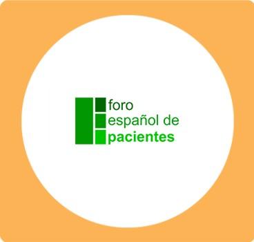 logo foro español de pacientes