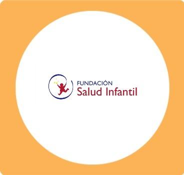 Logo salud infantil