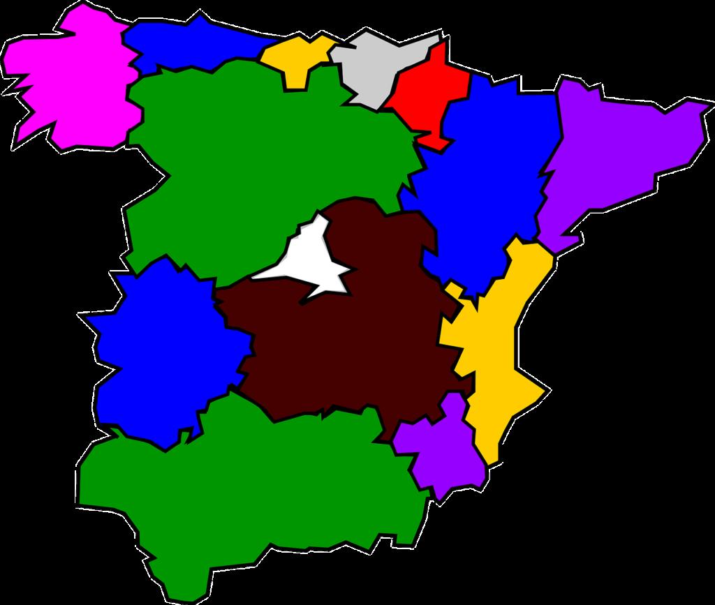 CEDDD autonómicos mapa España